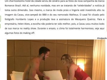 Campanha de Namoradas com OS BBB's
