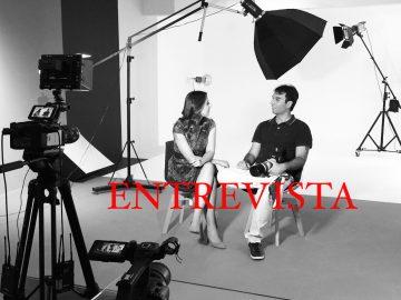 O fotógrafo Humberto Lopes em entrevista para o programa Portifolio Rede Recor