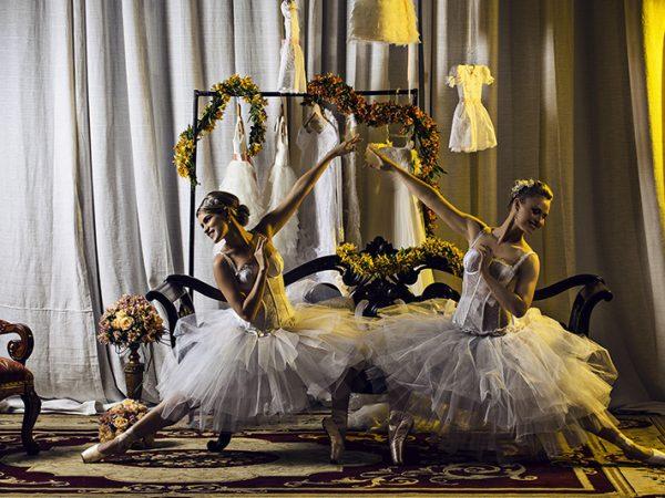 Ensaio bailarinas, revista RV