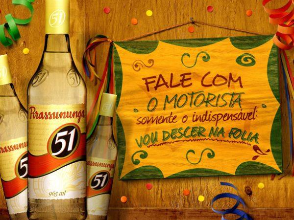 Campanha carnaval, Cachaça 51