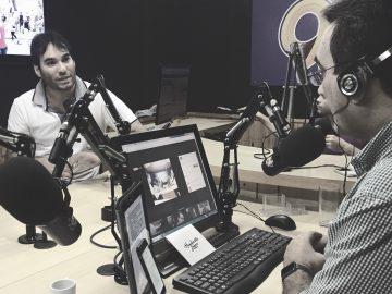 Humberto Lopes é entrevistado na 96FM