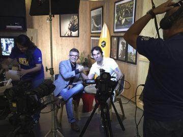 Entrevista no quandro Mandou Bem do Programa Resenhas do RN da Globo