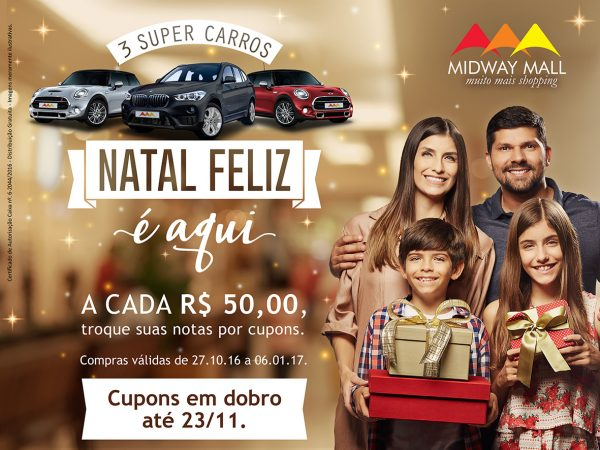 Campanha de Natal Shopping Midway  2016