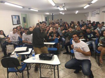 O fotógrafo Humberto Lopes e Convidado para palestra em evento na Faculdade Estácio de Sá