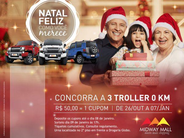 Shopping Midway Campanha Natal 2017